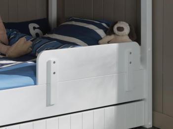 Barrière de lit ROLAND blanc