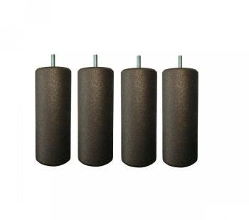 4 Pieds Cylindriques Terre