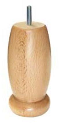 1 pied style bois 15x7e5cm