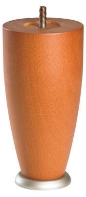 1 pied conique bois 17x8e5cm
