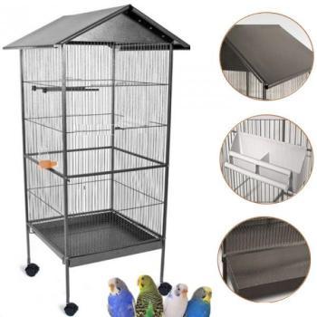 Volière cage à oiseaux avec
