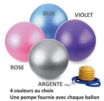 BALLON DE YOGA FITNESS - 55