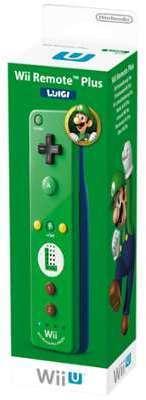 Télécommande Wii U Plus Luigi