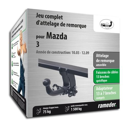 MAZDA 3 attelage AUTO-HAK