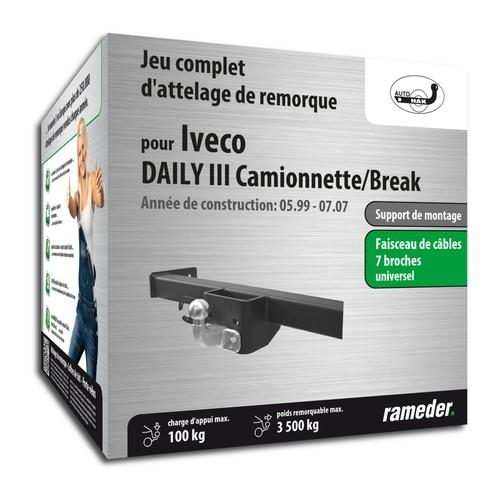 Attelage IVECO DAILY III Camionnette
