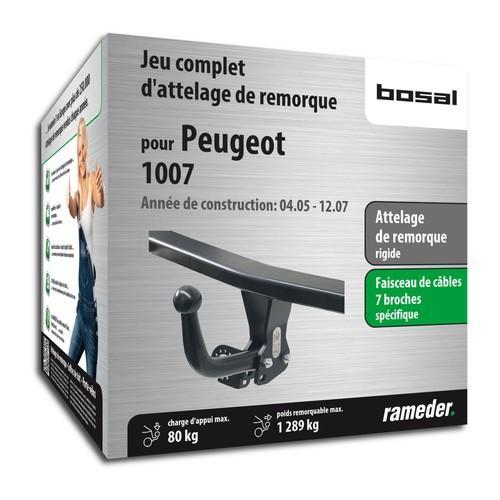 PEUGEOT 1007 attelage Bosal
