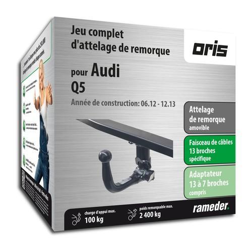 AUDI Q5 attelage Oris Amovible