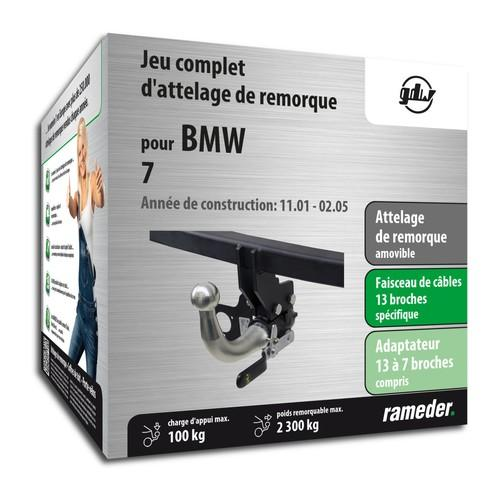 BMW 7 attelage GDW Amovible