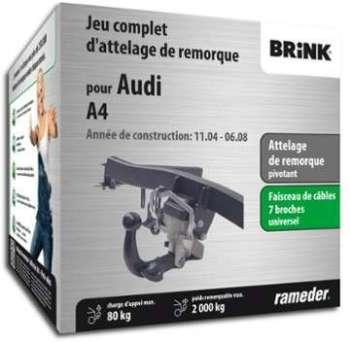 AUDI A4 attelage Brink escamotable