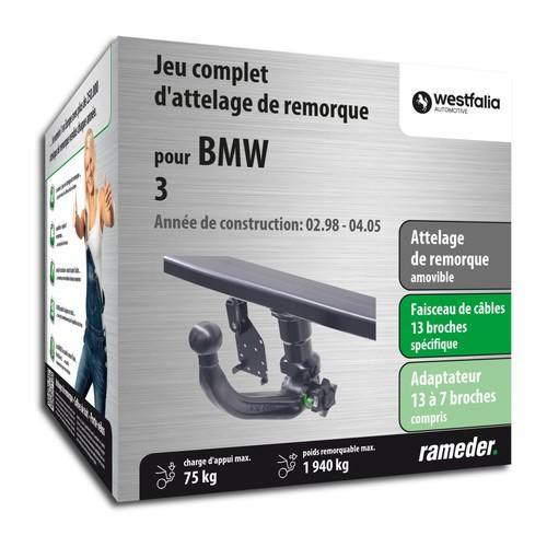 BMW 3 attelage Westfalia Amovible