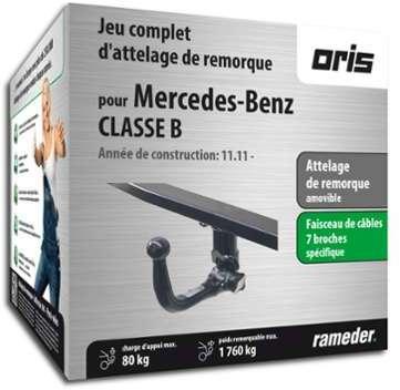 MERCEDES-BENZ CLASSE B attelage