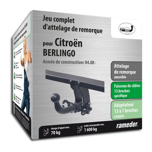 CITROËN BERLINGO attelage