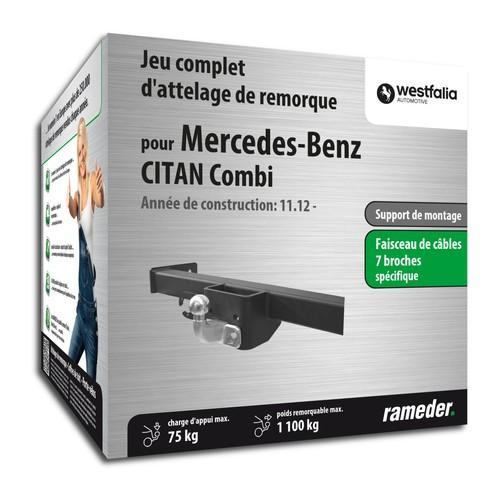 Attelage MERCEDES-BENZ CITAN
