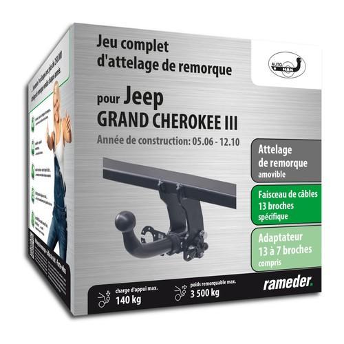 JEEP GRAND CHEROKEE III attelage