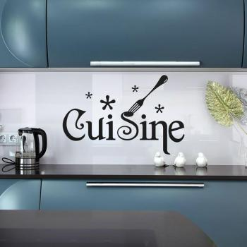 Artis sticker miroir cuisine for Stickers cuisine design