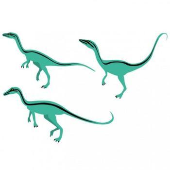 Stickers enfant 3 compsognathus