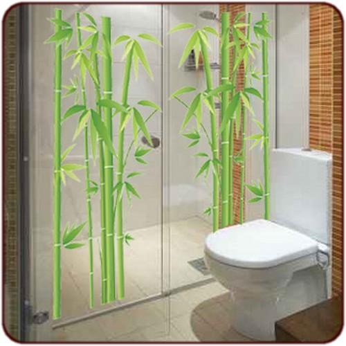 Sticker Bambou pour salle