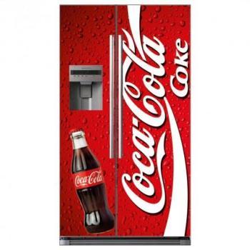 Stickers Frigo Américain coca