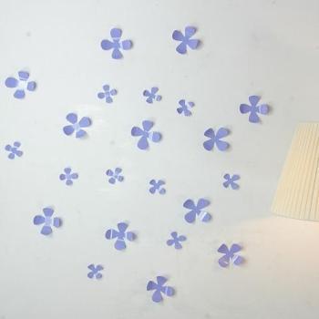 Kit de 36 Stickers fleurs