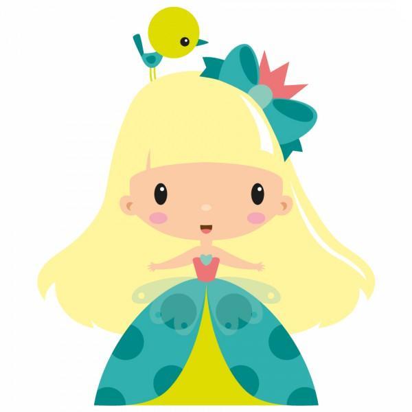 Sticker Enfant Princesse Zoé