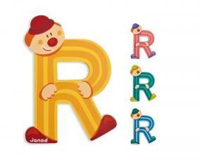 JANOD Lettres Alphabet Clown