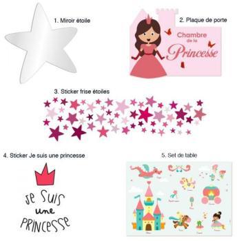 Kit Déco Princesse étoiles