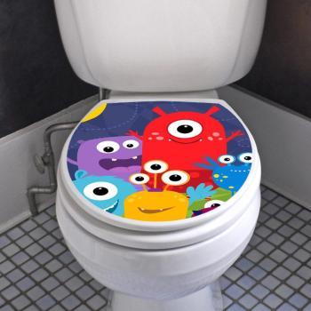 Sticker abattant wc petits