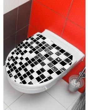 Sticker mosaïque Blanc PLANETE