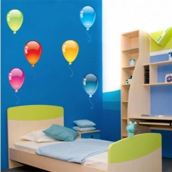 Kit Stickers 8 ballons