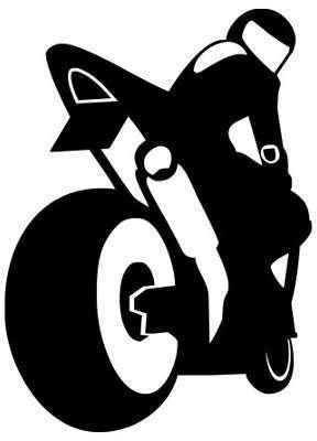 Stickers moto