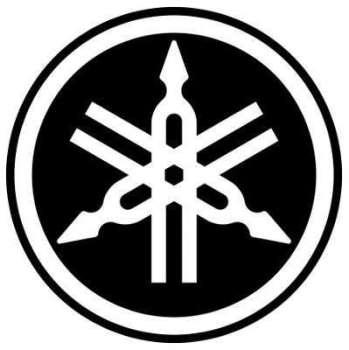 Stickers logo yamaha