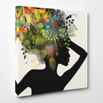 Tableau toile - Femme Africaine
