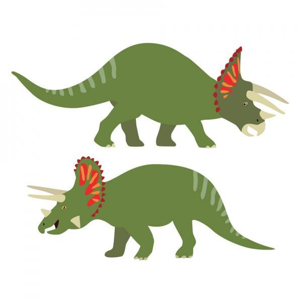 Stickers enfant 2 tricératops