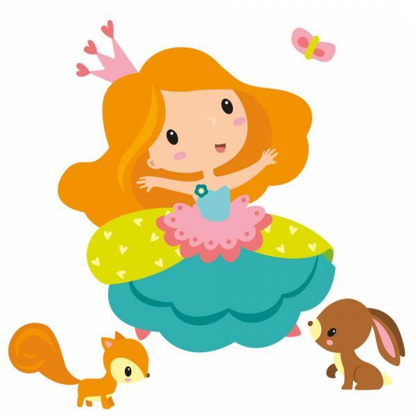 Sticker Enfant Princesse Emma