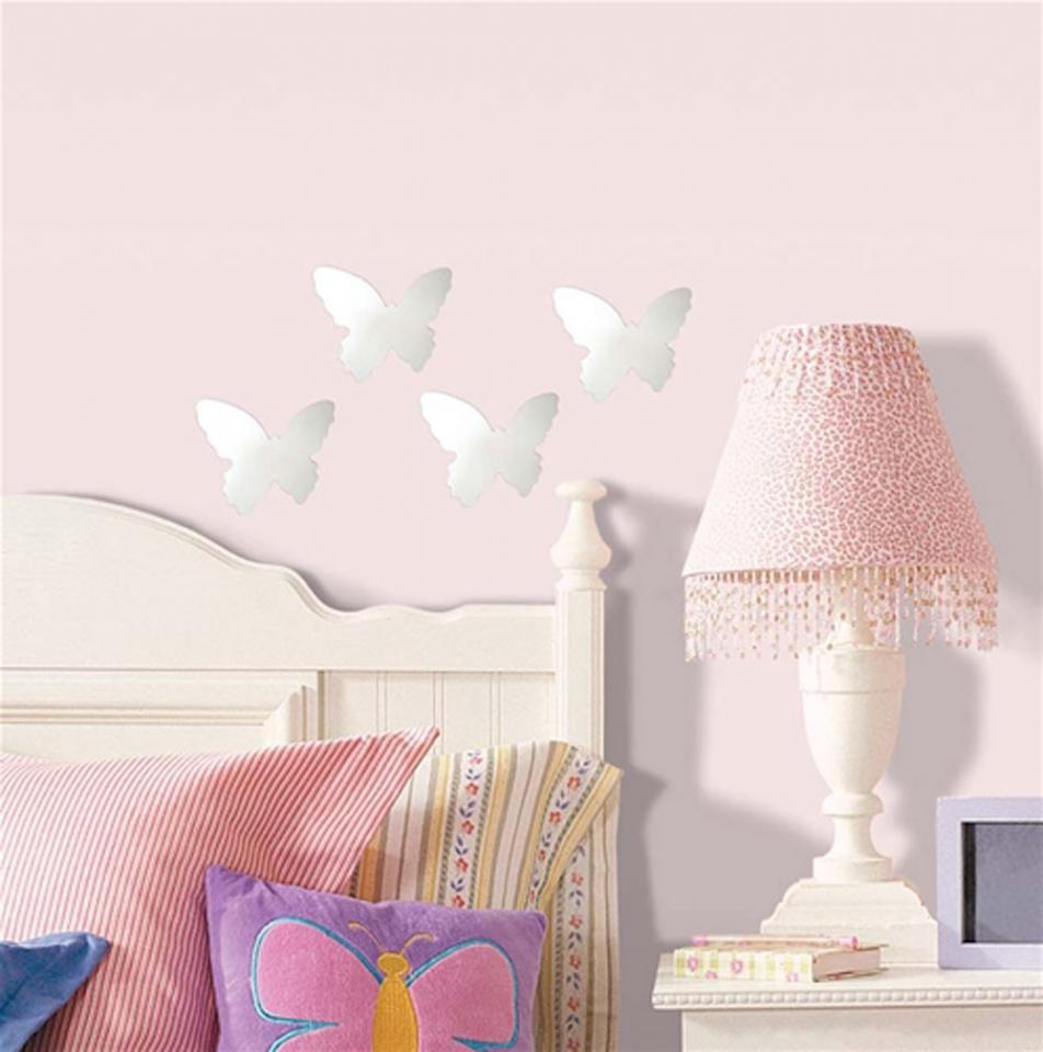 Stickers Miroirs Papillons