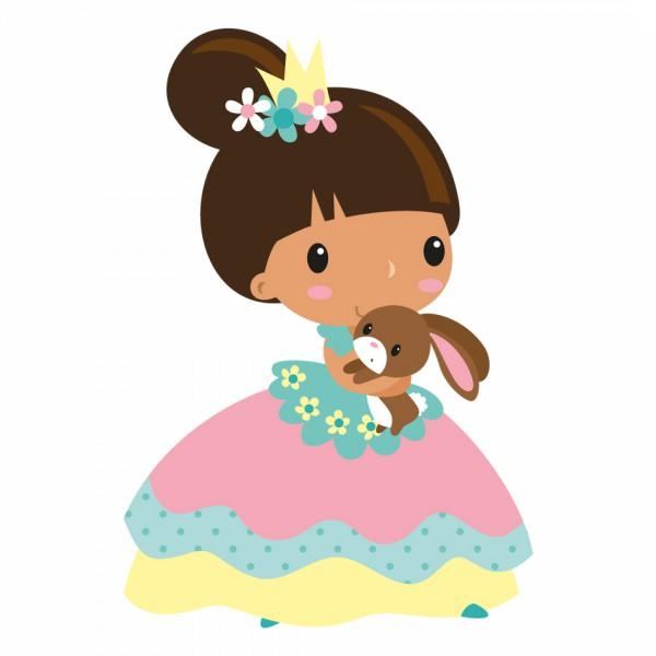 Sticker Enfant Princesse Eva