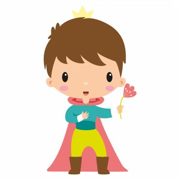 Sticker Enfant Prince Maxime