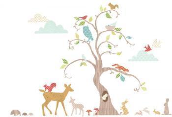 Kit de stickers La forêt