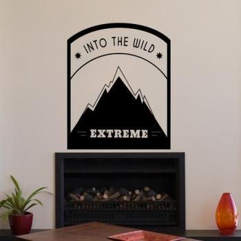 Sticker Into the wild extreme