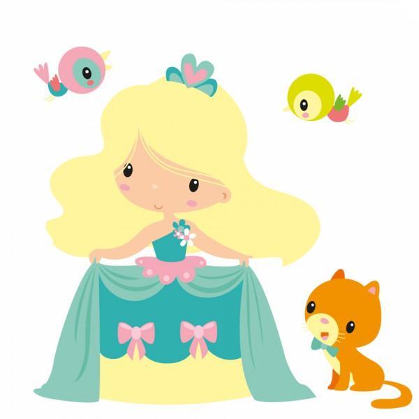 Sticker Enfant Princesse Louise