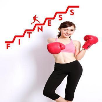 Sticker Escalier fitness