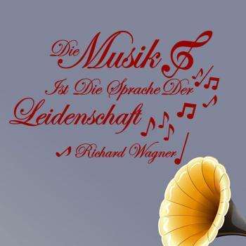 Sticker citation Die musik