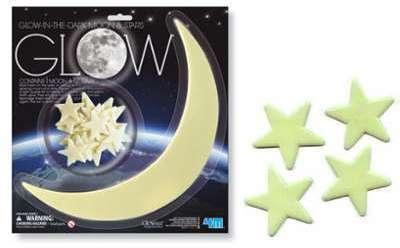 Stickers toiles et Lune Phosphorescentes