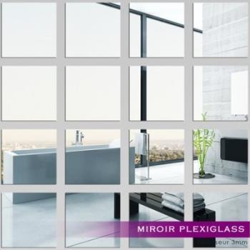 Kit Miroir Plexiglass Acrylique