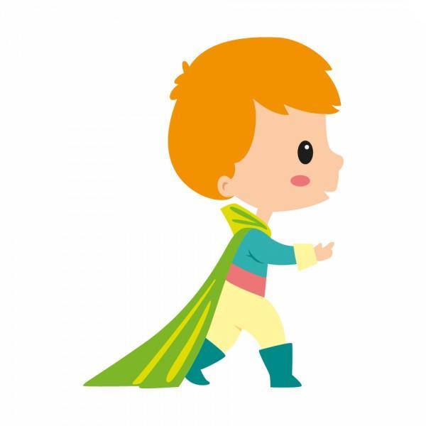 Sticker Enfant Prince Arthur