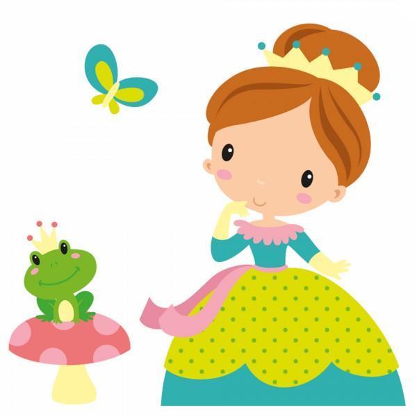 Sticker Enfant Princesse Romane