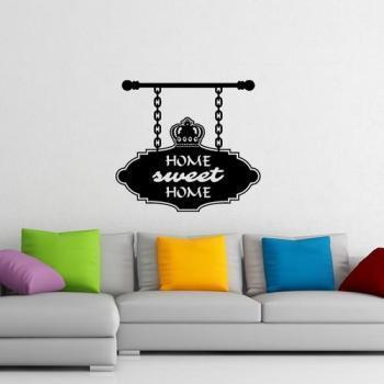 Sticker Home sweet home classique