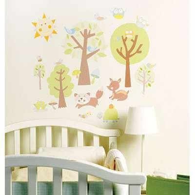 Stickers chambre bébé Histoires
