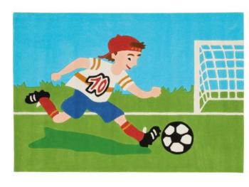 Tapis Enfant Football