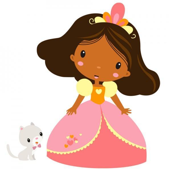Sticker Enfant Princesse Clara